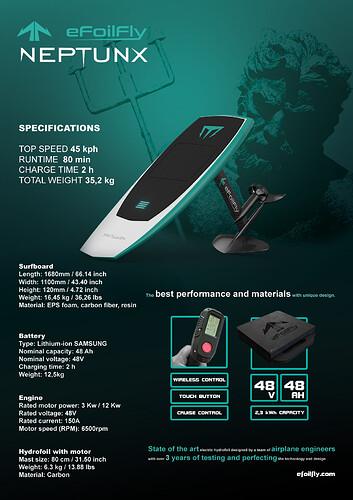 NeptunX mail broshure