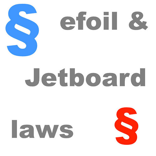 eFoil & Jetboard regulations