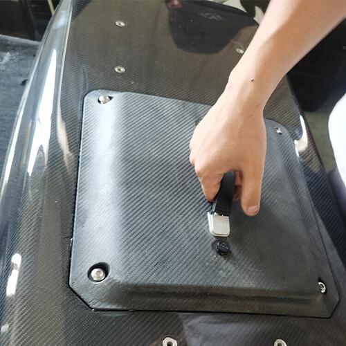 Noodato surfboard battery