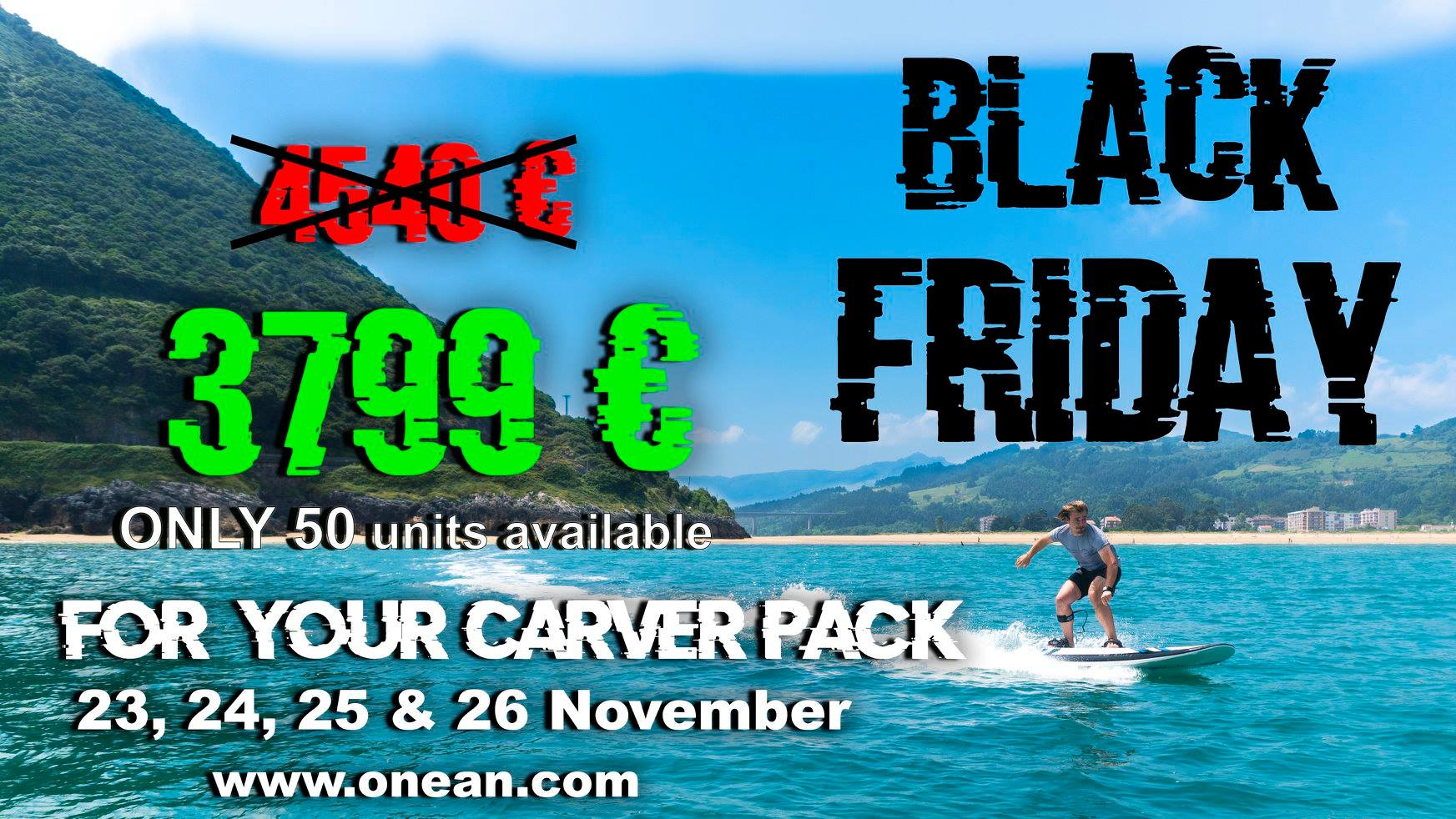 Black Friday At Onean Jetboards Onean Electric